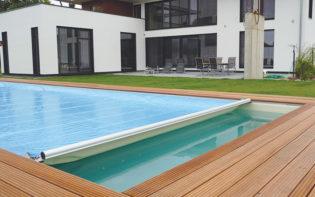 Helautomatiskt poolskydd från Leab