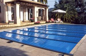 Pooltäckning för din pool från Spa o Bad