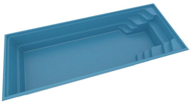 Pool glasfiber. Compasspool Fun 100