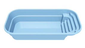 Stor glasfiberpool - Garden 5