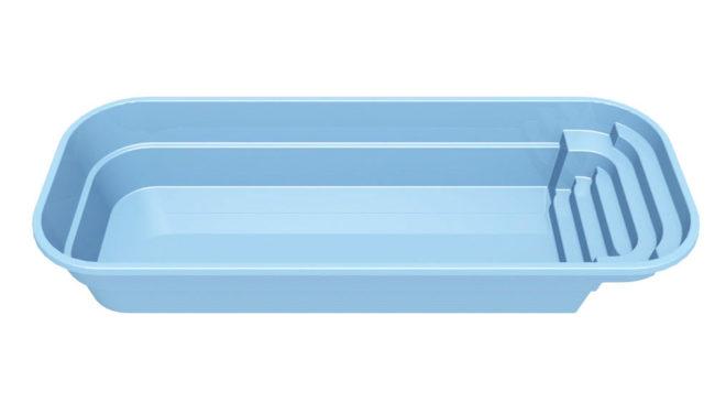 Stor glasfiberpool - Garden 6