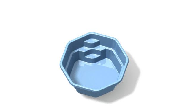 liten pool glasfiber