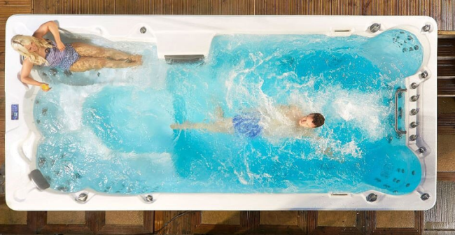 swimspa-kombipool-simspa från Spa o Bad