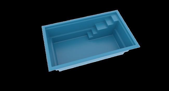 pool glasfiber med trappa från Compasspool
