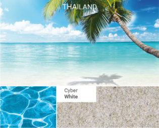 Pool Färg Cyber-White från Compass