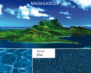 Nova-Blue poolfärg från Spaobad