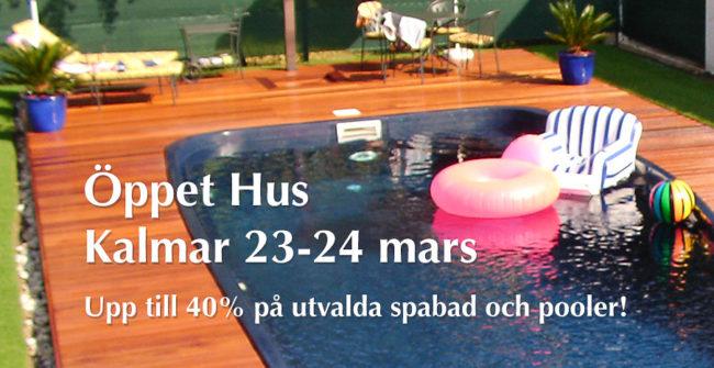 Öppet Hus på Spa o Bad i Kalmar 23-24 mars