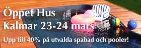 Öppet Hus i Kalmar hos Spa o Bad