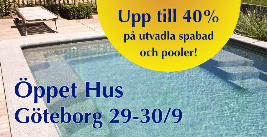 Öppet Hus i Göteborg, 40 rabatt