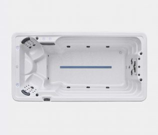 Swimspa Alpin XD-Swim 3, swimspa med 2 sittplatser